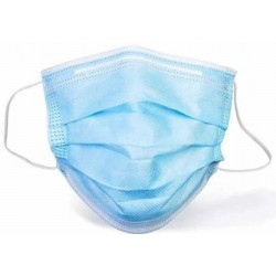 Disposable Medical Surgical Mask for Use in ICU and Operation Rooms (200 Boxes of 50 Masks, $28/box, $0.56/pc)